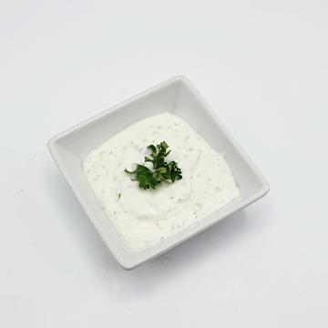 Náhľad tatárska omáčka,kečup,cesnaková majonéza,bylinkový dressing