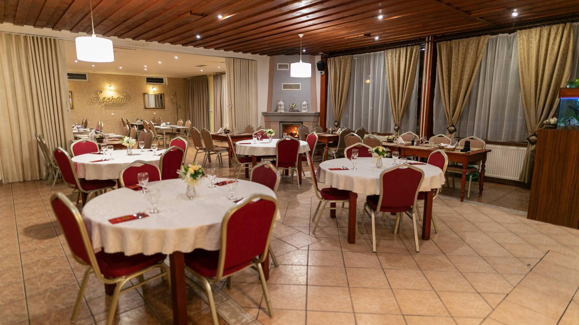 Reštaurácia - banketka - terasa